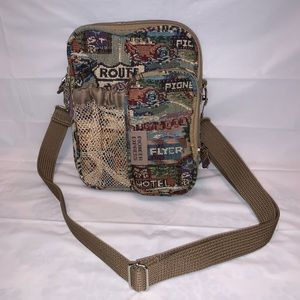 Pioneer Express Route 66 Travel Crossbody Bag HOBO